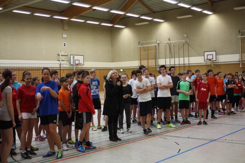Sie sehen Bilder des Artikels: Volleyball- Zweifelderball-Turnier 2013