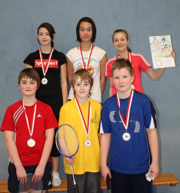 Sie sehen Bilder des Artikels: Regionalfinale Badminton 2010