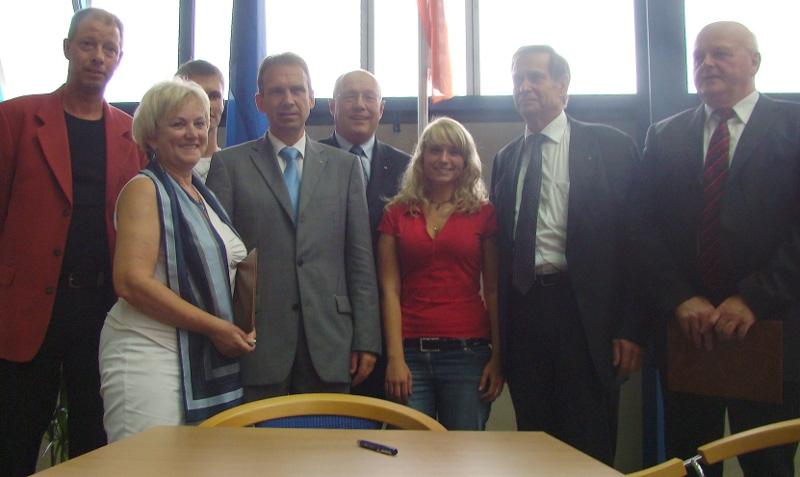 Sie sehen Bilder des Artikels: Kooperationsvereinbarung mit GUSS Meuselwitz