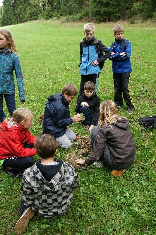 Sie sehen Bilder des Artikels: Klassenfahrt nach Saalburg/Kloster Klasse 6b
