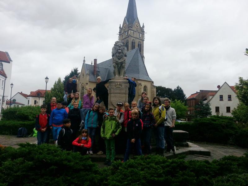 Sie sehen Bilder des Artikels: Wandertag der Klasse 5a nach Lucka