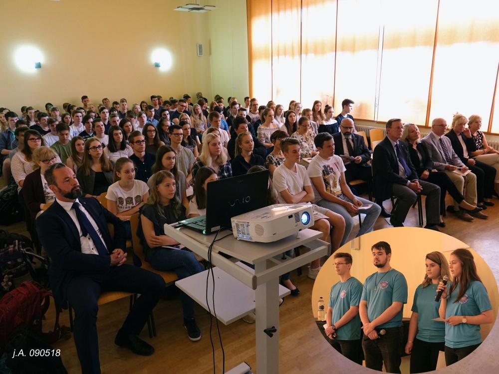 Sie sehen Bilder des Artikels: Besuch des Thüringer Ministerpräsidenten am 09. Mai 2018