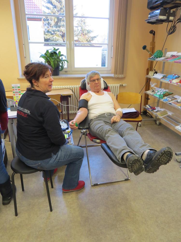 Sie sehen Bilder des Artikels: Blutspendeaktion im Seckendorff-Gymnasium