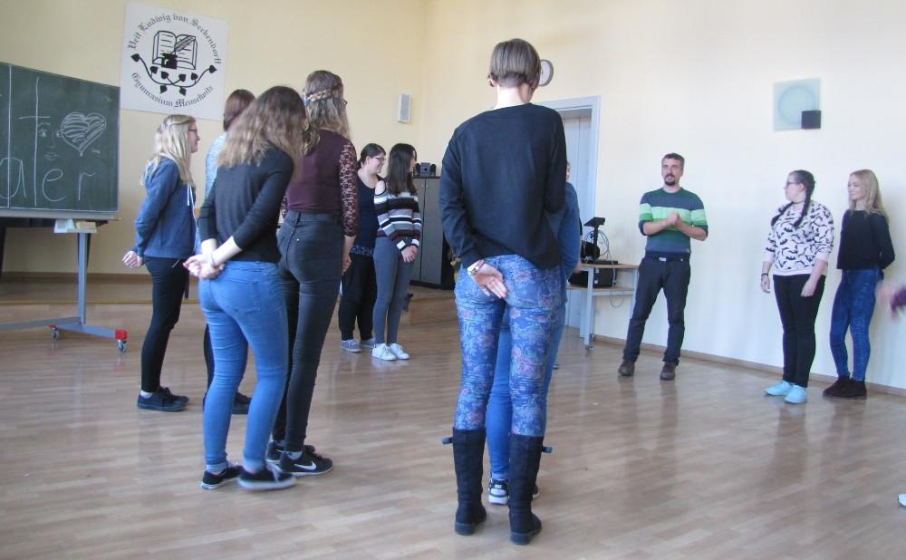Sie sehen Bilder des Artikels: Workshop mit Spiel und Spaß