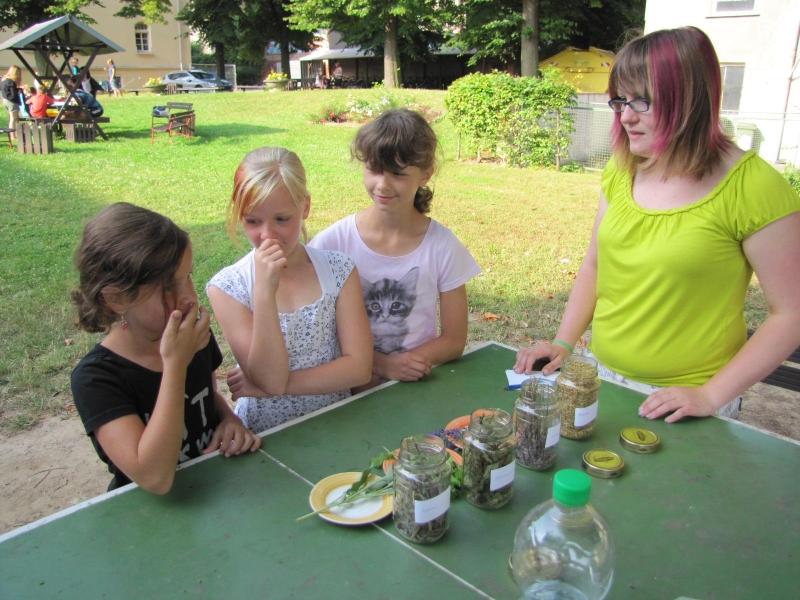 Sie sehen Bilder des Artikels: Grundschüler im Kneipp-Fieber