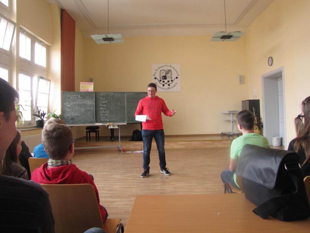 Sie sehen Bilder des Artikels: Frischer Wind in unserer Schule beim Poetry Slam