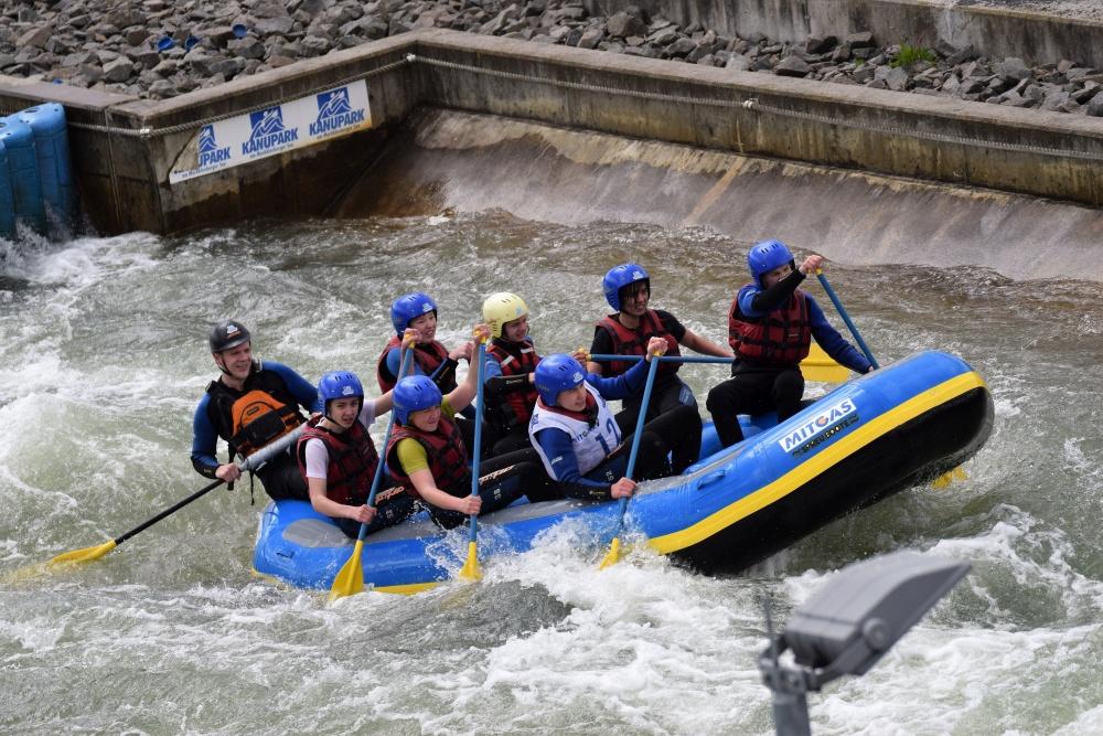 Sie sehen Bilder des Artikels: 9. MITGAS Schüler-Rafting