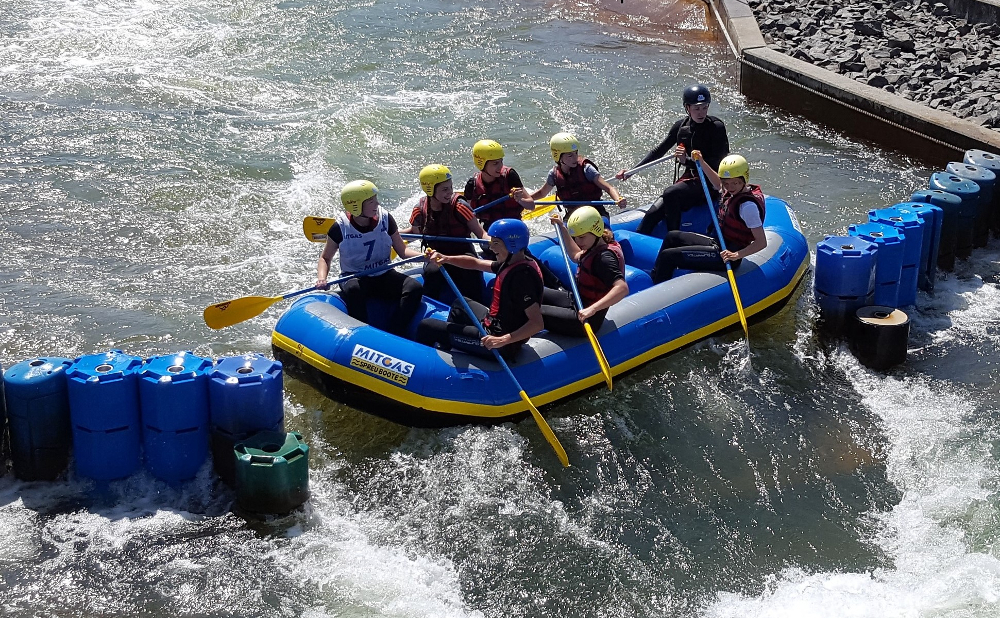 Sie sehen Bilder des Artikels: 10. MITGAS Schüler-Rafting