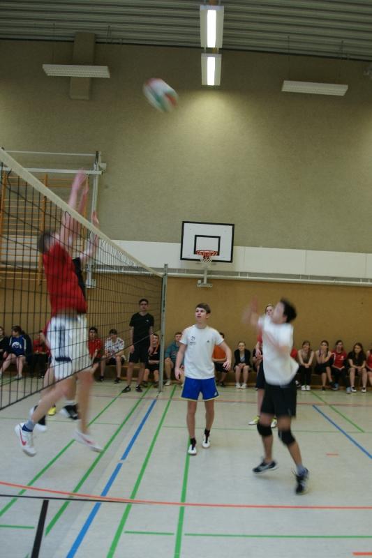 Sie sehen Bilder des Artikels: Volleyball- Zweifelderball-Turnier 2014