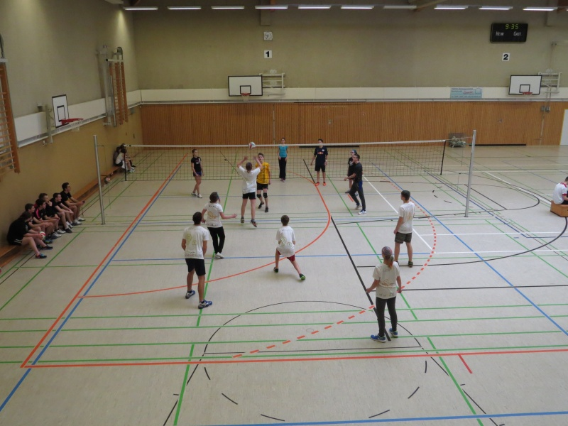 Sie sehen Bilder des Artikels: Volleyball- Zweifelderball-Turnier 2015