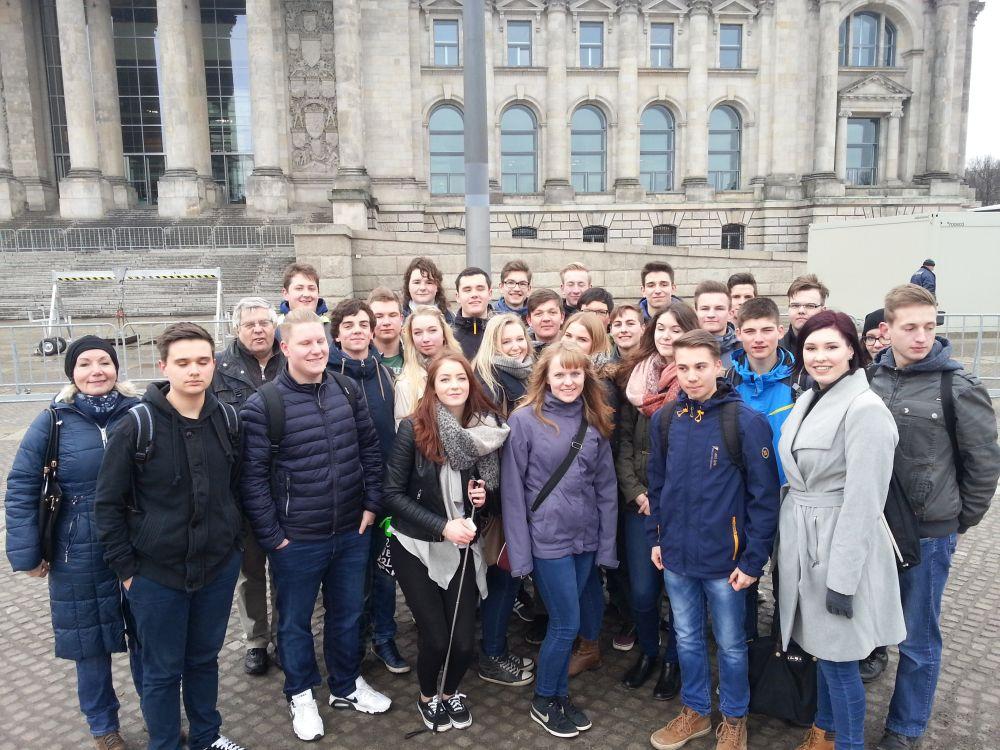 Sie sehen Bilder des Artikels: Exkursion zum Bundestag