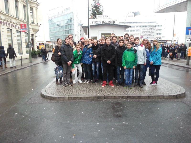 Sie sehen Bilder des Artikels: Klassenfahrt der 9a nach Berlin