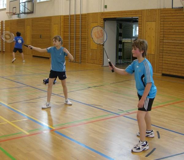 Sie sehen Bilder des Artikels: Regionalfinale Badminton 2009