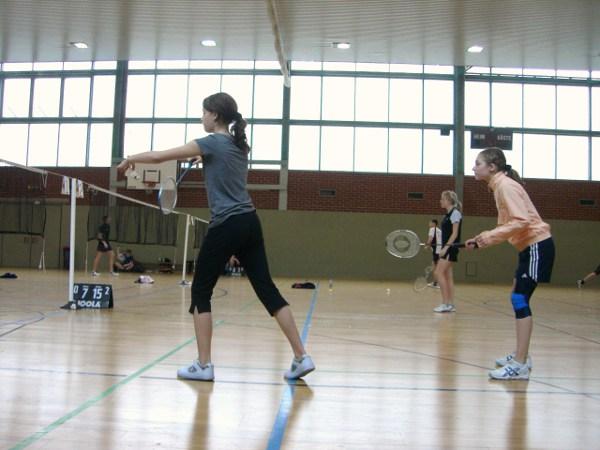 Sie sehen Bilder des Artikels: Landesfinale Badminton 2010