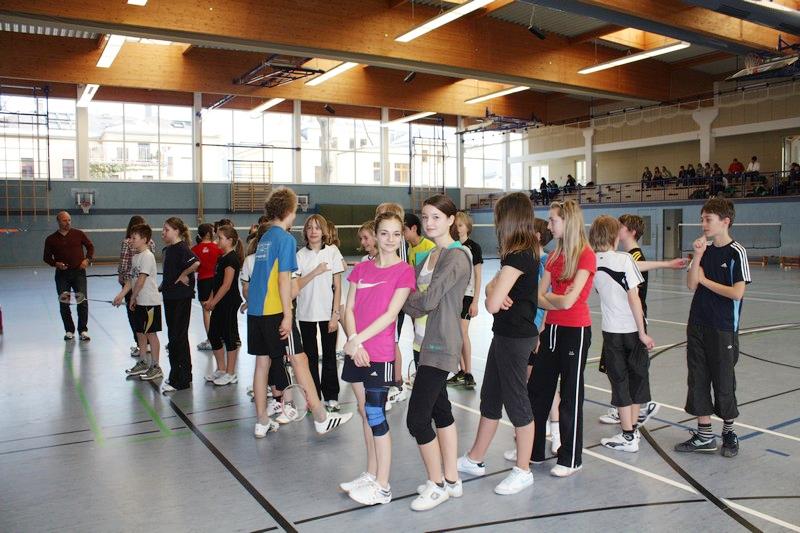 Sie sehen Bilder des Artikels: Regionalfinale Badminton 2011