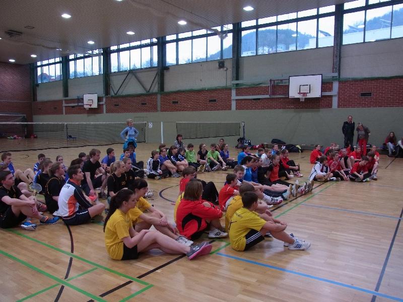 Sie sehen Bilder des Artikels: 2.Platz im Landesfinale Badminton