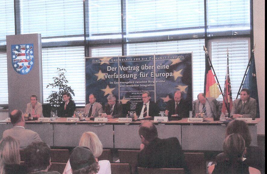 Sie sehen Bilder des Artikels: Besuch im Landtag Erfurt