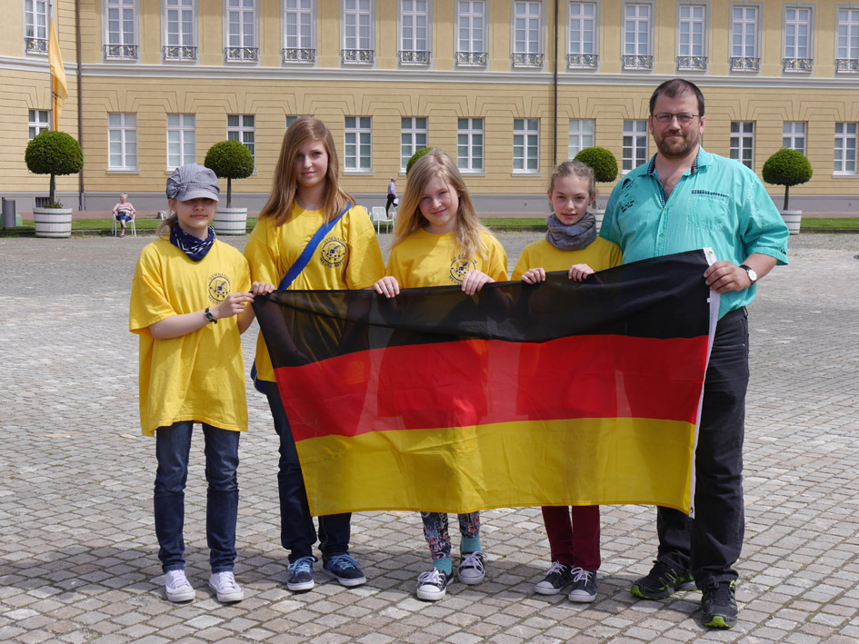 Sie sehen Bilder des Artikels: Deutsche Schulschachmeisterschaft der Wertklasse Mädchen in Karlsruhe